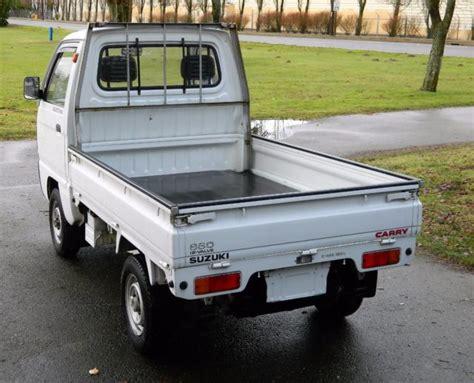 1990 Suzuki Carry 660cc 4wd (rhd) Kei Truck