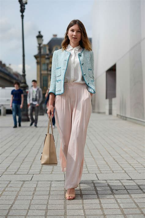 Summer Outfit Ideas 5 Tres-Chic Looks Inspired by Paris Couture Street Style   Glamour