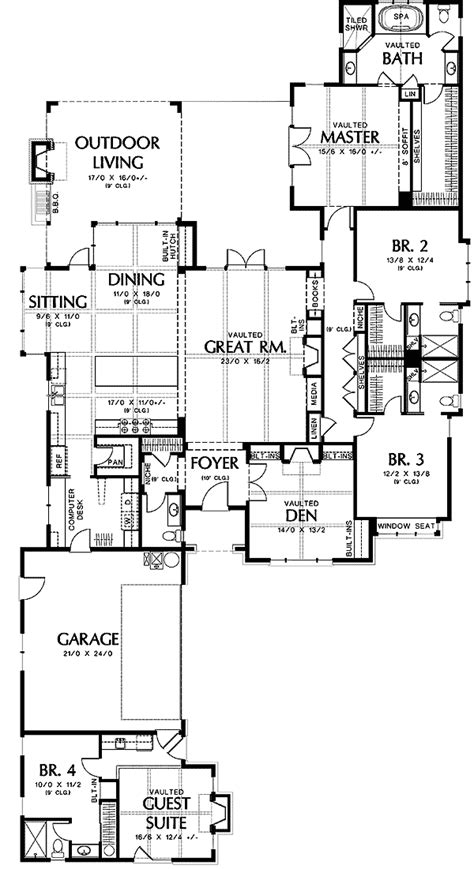 house plans with attached guest house attached guest house plans home deco plans