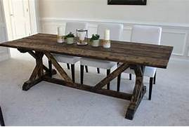Farmhouse Dining Room Table Seats 12 by Artistic And Unique DIY Farmhouse Table Ideas