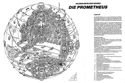 prometheus raumschiff der widder
