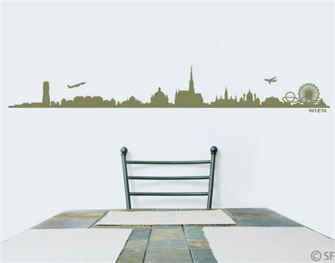 Wandtattoo Kinderzimmer Wien by Wandtattoo Wien Skyline Die Stadt Als Wandtattoo