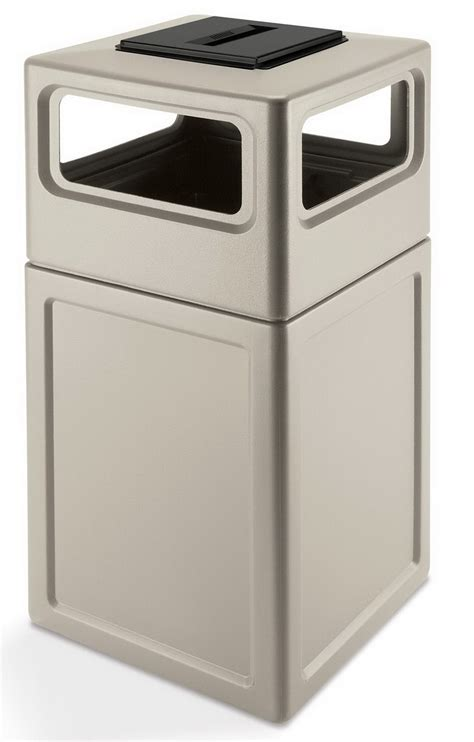 trash cans for kitchen outdoor commercial trash can ashtray lid trash cans and