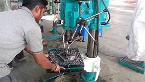 Valve Automatic Drilling On Prakash Allgeared Pillar