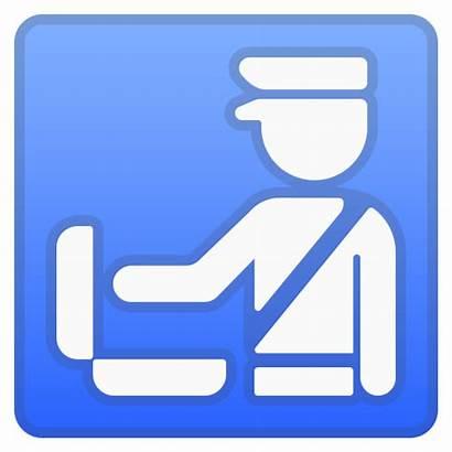 Icon Customs Emoji Douane Zoll Google Symbol