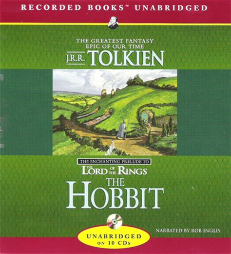 lord of the rings audiobook unabridged rob inglis