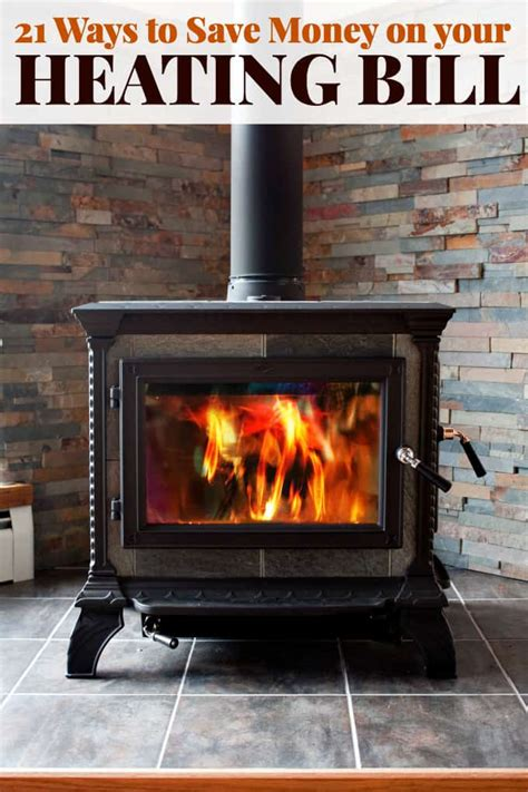ways  save money   heating bill simply stacie