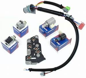 Master Solenoid Kit W  Harness 4l80 4l80e Mt1 Chevrolet Gm