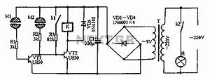 human detect circuit sensors detectors circuits nextgr With 2 way touch switch
