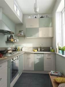 12 modeles de petite cuisine cote maison With meuble cuisine petit espace 13 petites cuisines mobalpa