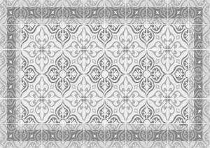 Set De Table Carreaux Ciment : set de table carreaux de ciment jos phine gris tourterelle ~ Melissatoandfro.com Idées de Décoration