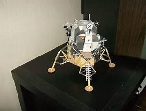 Paper Lunar Lander Module - Pics about space