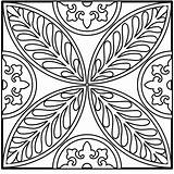 Mandala Coloring Pages Intricate Square Simple Easy Mandalas Designs Printable Adults Fairy Google Becuo Sanctuary Christian Coloringhome Popular Fern sketch template