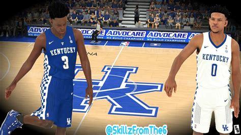 nba  kentucky wildcats jerseys arena tutorial