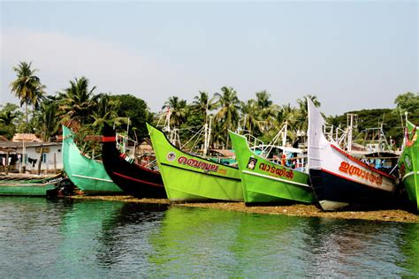 Fishing Boat In Kerala by Kerala Fishing