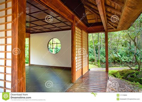 Japanese Style Kitchen by Tea House In Japanese Park Stock Photo Image 17178960