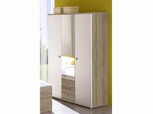 Kleiderschrank 3 Türig Weiß : kleiderschrank 3 t rig vicky sonoma wei kinder jugendzimmer komplett sets vicky ~ Bigdaddyawards.com Haus und Dekorationen