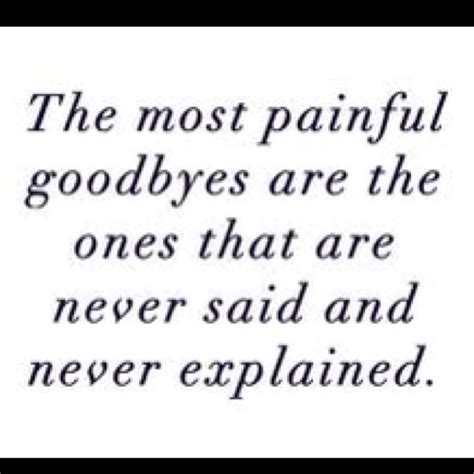 Is Hard To Say Goodbye Quotes