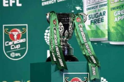 Carabao Cup fourth round draw in full as Man Utd, - One ...
