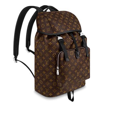 zack backpack monogram macassar travel louis vuitton