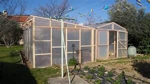 Construire Une Serre Pas Cher : construire une serre en bois de 24m youtube ~ Premium-room.com Idées de Décoration