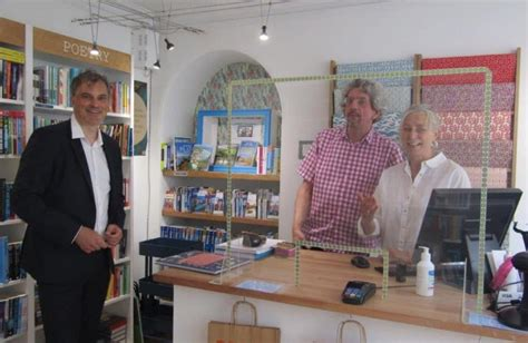 Julian Smith MP visits local businesses during coronavirus ...