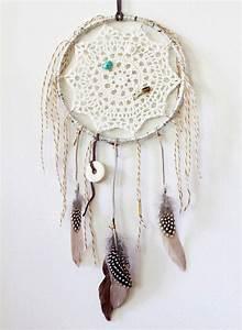 Attrape Reve Boheme : attrape r ve boh me avec un napperon en crochet guide astuces ~ Teatrodelosmanantiales.com Idées de Décoration