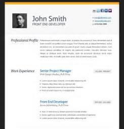 attractive cv templates free download professional resume template resume format download pdf