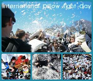 Let the Feathers Fly : International Pillow Fight Day ...
