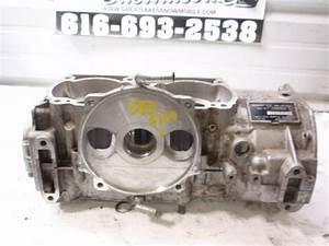 Ski Doo Rotax 583 Snowmobile Engine Crank Case Set