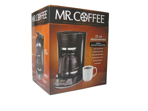 3.4 out of 5 stars with 213 reviews. Mr. Coffee 12-Cup Programmable Coffee Maker, BVMC-AMX23, Black