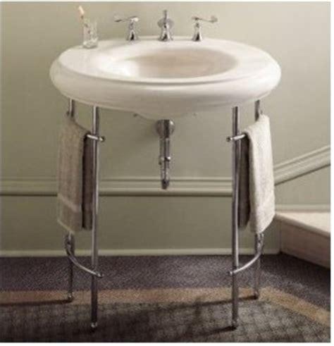 Bathroom Sink Metal Legs by Sink Metal Console Home Garden Design