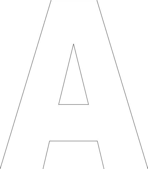 Alphabet Letter Tracing Templates by Free Printable Alphabet Template Free