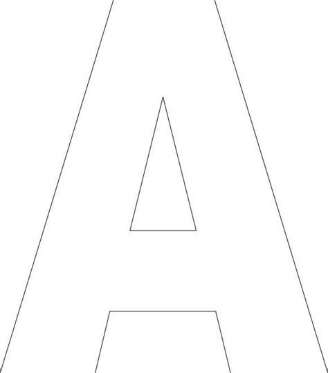 printable upper case alphabet template modelli