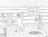 Pioneer Coloring Pages Pioneers Boy Robin Dobson Jig Dancing Thomas sketch template