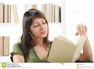 Woman Reading A Book Royalty Free Stock Photography ...