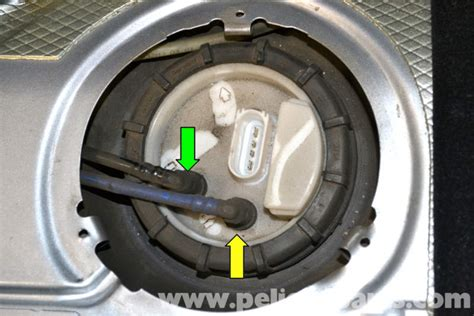 how to remove fuel pump 1991 volkswagen gti volkswagen golf gti mk iv fuel pump replacement 1999 2005 pelican parts diy maintenance article