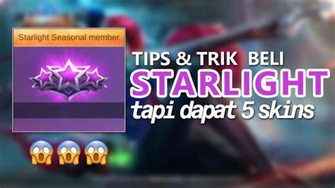 Starlight Trick Bisa Dapat 5 Skins Gratis (?) + Giveaway