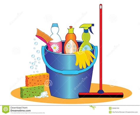Cleaning Supplies Clip Art Cleaning Products Clipart