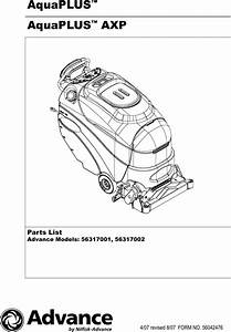 Aquaplus Parts Manual