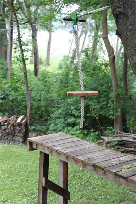 Zipline For Backyard by Sneak Peek Jo And Steve Hoffman Design Sponge