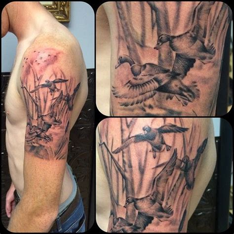 25+ Best Ideas About Duck Hunting Tattoos On Pinterest