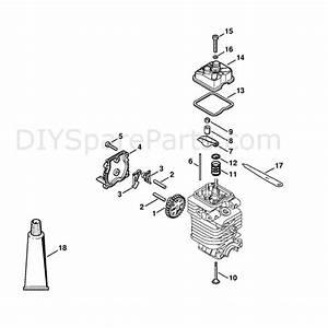 Stihl Fs 130 Brushcutter  Fs130r  Parts Diagram  Valve