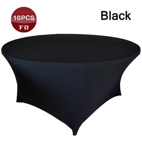 spandex table covers cheap online get cheap 6ft round tablecloths aliexpress com