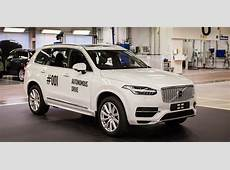 Volvo Drive Me autonomous car trial begins in Sweden