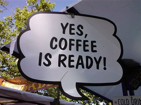 Yes, Coffee Is Ready! Eugene