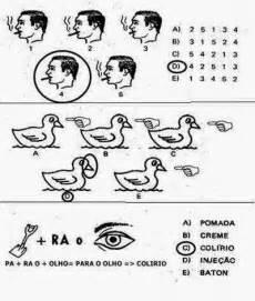 como  um exame psicotecnico