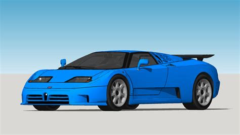 In 1992 michael schumacher purchased a yellow eb 110 super sport and it became one of the most famous cars. 1992 Bugatti - EB110 SS | 3D Warehouse