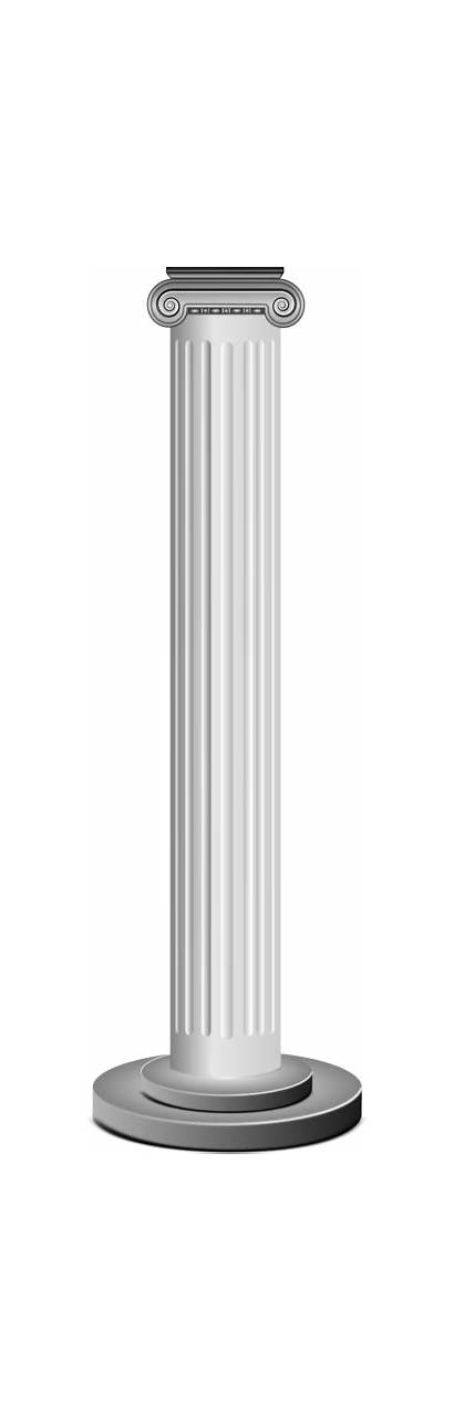Column Clipart Transparent Colonne عمود Cliparts Clip