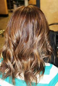 Natural Looking Highlights Brown Hair Hairs Picture Gallery